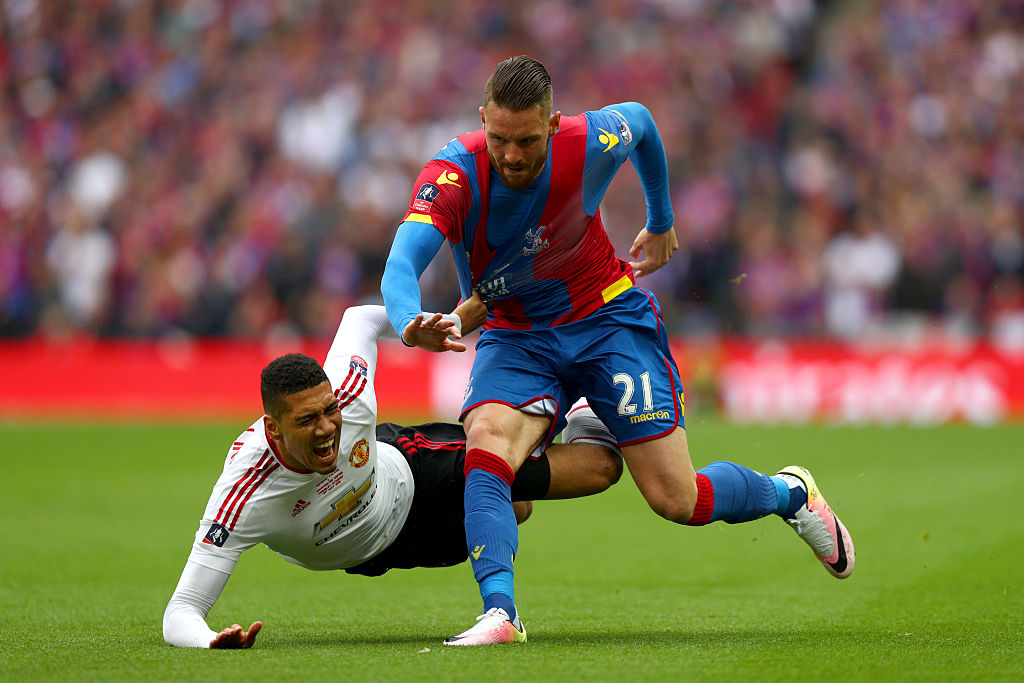 connor wickham,jogador,chris smalling,crystal palace,equipa,manchester united,fa cup 15/16,fa cup