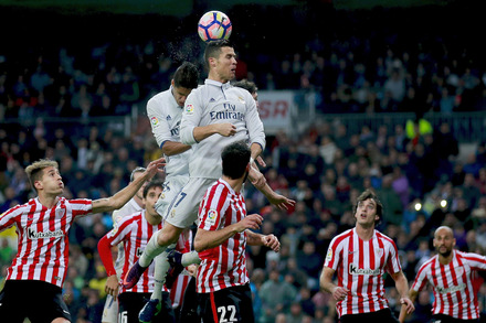 Real Madrid x Athletic - Liga Espanhola 2016/17