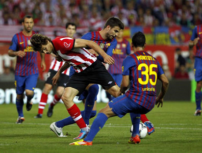 Athletic 0-3 Barcelona